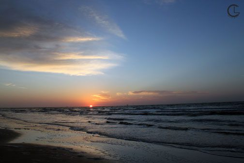 Galveston, Texas beach