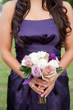 bridesmaid closeup