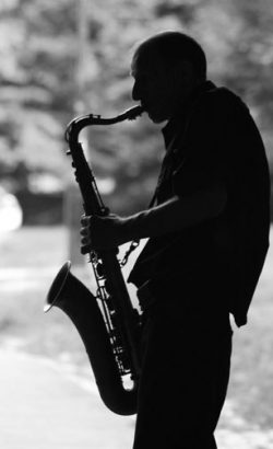 Centarl Park Sax Player